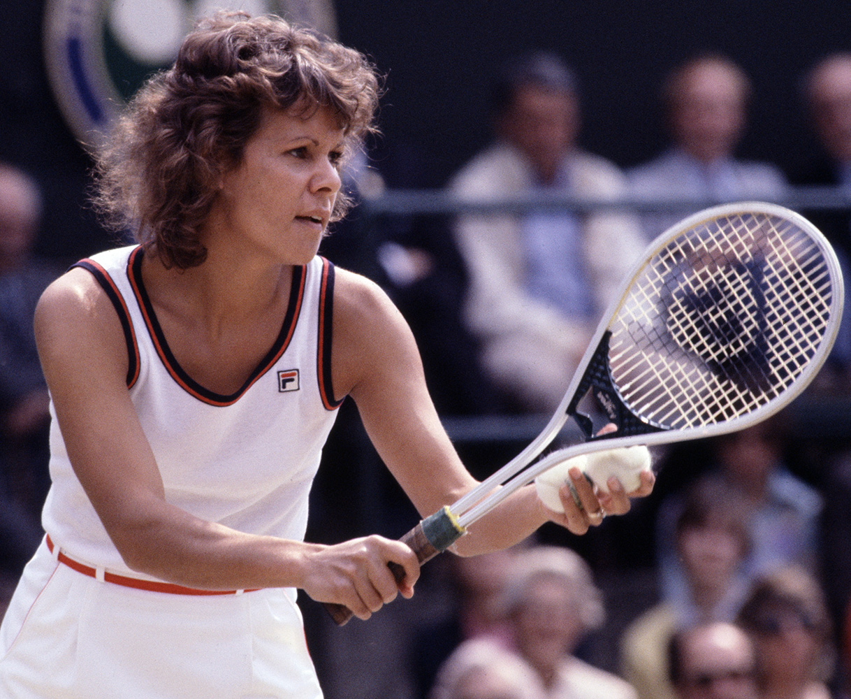 Evonne Goolagong 7 Grand Slam singles titles