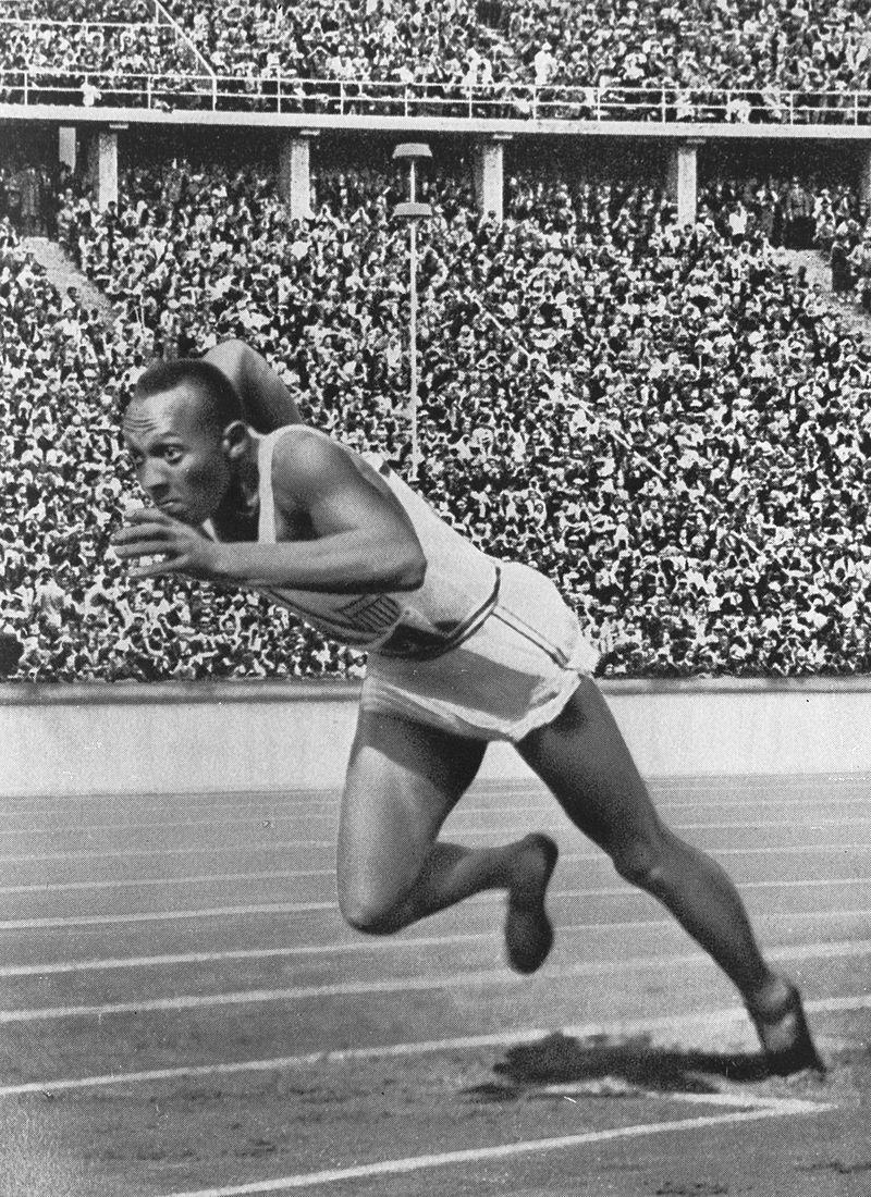 Jesse Owens 200 metres